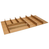 ''Fineline'' Large Cutlery Tray, Cherry, 33-9/16''W x 16-11/16''D x 1-15/16''H