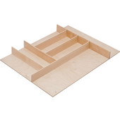 ''Fineline'' Small Cutlery Tray, Birch, 15-9/16''W x 20-13/16''D x 1-15/16''H