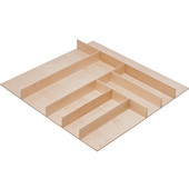 ''Fineline'' Small Cutlery Tray, Birch, 21-9/16''W x 20-13/16''D x 1-15/16''H