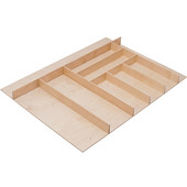 ''Fineline'' Large Cutlery Tray, Birch, 27-5/8''W x 16-11/16''D x 1-15/16''H