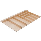 ''Fineline'' Large Cutlery Tray, Birch, 33-9/16''W x 16-11/16''D x 1-15/16''H