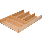 ''Fineline'' Move Kitchen Cutlery Insert, Birch, 11-13/16''W x 16-11/16''D x 1-15/16''H