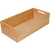 ''Fineline'' Move Kitchen Storage Box 1, Birch, 8-5/16''W x 16-11/16''D x 4-3/4''H
