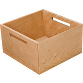 ''Fineline'' Move Kitchen Storage Box 2, Birch, 8-5/16''W x 8-5/16''D x 4-3/4''H