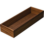 ''Fineline'' Move Kitchen Cutlery Box 1, Walnut, 4-1/8''W x 11-13/16''D x 1-15/16''H