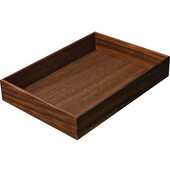 ''Fineline'' Move Kitchen Cutlery Box 2, Walnut, 8-5/16''W x 11-13/16''D x 1-15/16''H
