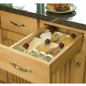 Wooden Spice Tray Drawer Insert, 15-1/4'' & 23-1/2'' Widths Available