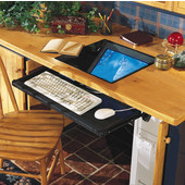 Monitor Suspension System for Flat Screen Monitors, 24'' keyboard tray width, 1 set