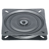 Turntable, 360 Degree Rotation, 220 lb. load capacity, Steel, Unfinished, 6-11/16''