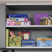 Shelf Stiffener 96'' Matt Aluminum