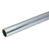 Steel Wardrobe Tube, 1-5/16'' Diameter, 12'W, Chrome