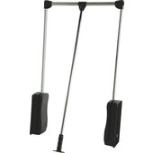 Closet Wardrobe Lift, Available in Various Finishes & Closet Widths