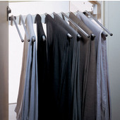 Swivel Pull-Out Trousers Rack for 10 Pairs