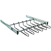 ''Synergy'' Collection Pants Rack, Polished Chrome, Available in Various Sizes