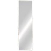 Elite Fixed Mirror, Matt Nickel, 13-1/8''W x 5/8''D x 47-3/8''H