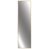 Elite Fixed Mirror, Matt Gold, 13-1/8''W x 5/8''D x 35''H