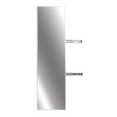 Elite Pull-Out Full Rotation Mirror, Matt Aluminum, 13-3/8''W x 47''H