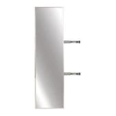Elite Pull-Out Full Rotation Mirror, Matt Nickel, 13-3/8''W x 35''H