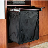 ''Synergy'' Collection 1-Bag Extendable Hamper, w/ 1 Large Bag, in Dark Oil Rubbed Bronze, 18''W x 14''D x 21-1/2''H