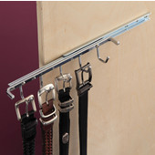 Belt Rack with Single Extension Slide