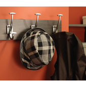 ''Synergy Elite'' Collection Coat Hook, Matt Nickel, 2 Sizes Available
