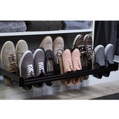 Engage Pull-Out Shoe Organizer, Oil Rubbed Bronze, 24''