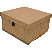 Engage Storage Box, Beach Fabric, 14-1/2''W x 13-1/2''D x 7-3/8''H