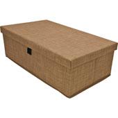 Engage Storage Box, Beach Fabric, 23-1/2''W x 13-1/2''D x 7-3/8''H