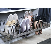 Engage Pull-Out Shoe Organizer, Matt Nickel, 36''