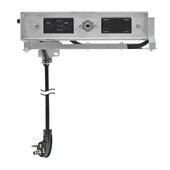 Blade Duo Series Model 1514-212, Docking Drawer (2) AC (15AMP @120VAC), (2) USB-A Port (3.6 AMP @ 5VDC), and (4) USB-A Port (4.2 AMP @ 5VDC) Outlets in Stainless Steel