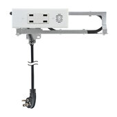 Blade Series Model 1514-120, Docking Drawer (4) USB-A (4.2 AMP @ 5VDC) Port in White