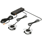 LOOX 12V Sound System 420E Bluetooth Receiver, with Stereo Amplifier, 2 Speakers and Bluetooth Control