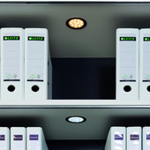 Luminoso 12V #1101 Recess Mounted Round LED Puck Light with 24 High Intensity LEDs, Multi-White 3000K-6000K, 68mm (2-11/16'') Dia.