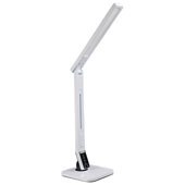 Adjustable LED Desktop Lamp, TL-3000 with USB charging, 3300-6200K, White