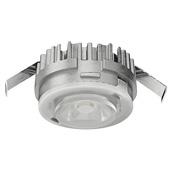 LOOX5 LED2090 Series 3000K Warm White Modular Puck Light, Monochrome, 12 Volts, 1.2 Watts, CRI90, Aluminum, with 2 Meters (78-3/4'' Length) Lead, 1-1/4'' Diameter