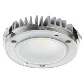 LOOX5 LED3092 Series 3000K Warm White Modular Puck Light, Monochrome, 24 Volts, 3.4 Watts, CRI90, Aluminium, 2-9/16'' Diameter x 5/8'' H