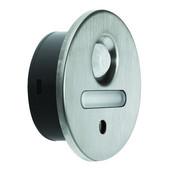 LOOX 12V #2028 Toe Kick LED Light with 3 LEDs, Warm White 2700K, 40mm (1-5/8'') Length, Brushed Steel