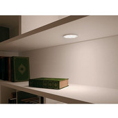 LOOX 12V #2002 Surface Mounted Round Puck LED Light, Warm White 3000K, 58mm (2-5/16'') Dia.