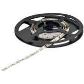 LOOX5 LED3048 Series 2700K Warm White LED Flexible Strip Light, Monochrome, 24 Volts Direct Current, 14.4 Watts Per Meter, CRI90, 50 Meters (1968-1/2'' Length), Roll