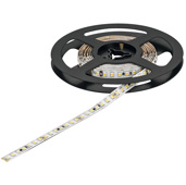 LOOX5 LED3052 Series 5000K Cool White LED Flexible Strip Light, Monochrome, 24 Volts Direct Current, 19.2 Watts Per Meter, CRI90, 50 Meters (1968-1/2'' Length), Roll