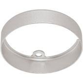 LOOX LED 24V 3010 Surface Mount Ring, Round, Aluminum, Silver Anodized