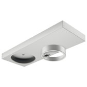 LOOX LED 24V 3010 Surface Mount Housing, Aluminum, Silver Anodized