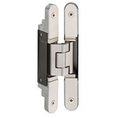 Tectus TE 240 3D Concealed Hinge for Max. 132 lbs. Door, Satin Nickel