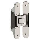 Tectus TE 340 3D Concealed Hinge for Max. 176 lbs. Door, Satin Nickel