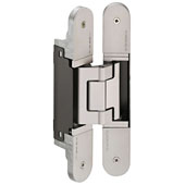 Tectus TE 540 3D Concealed Hinge for Max. 264 lbs. Door, Polished Nickel