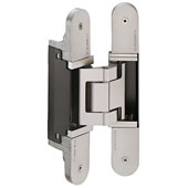 Tectus TE 540 3D A8 Concealed Hinge for Max. 220 lbs. Door, Polished Nickel