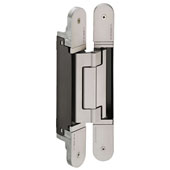 Tectus TE 640 3D Concealed Hinge for Max. 440 lbs. Door, Satin Nickel