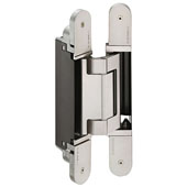 Tectus TE 640 3D A8 Concealed Hinge for Max. 352 lbs. Door, Polished Nickel