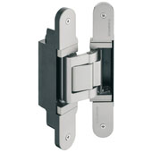Tectus TE 541 3D FVZ Concealed Hinge for Max. 220 lbs. Door, Satin Chrome