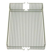 Wire Baskets, Set of 2, Chrome Finish, 8''W x 20-3/8''D x 4-1/8''H, Min Cab Opening: 8-1/2'' W x 20-3/8'' D x 4-1/8'' H